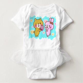 Bear & Rabbit Baby Bodysuit