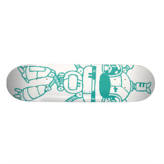 Bear Robot Skate Deck
