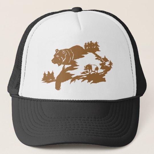 BEAR SCENE CAP