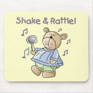 Bear Shake and Rattle Tshirts and Gifts Mouse Pad