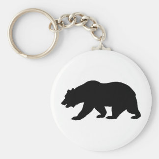 Bear Shape Key Ring
