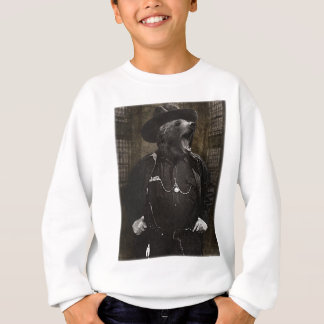 Bear Sheriff Wild Fun Sweatshirt