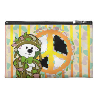 BEAR SOLDIER CARTOON Travel Accessory Bag
