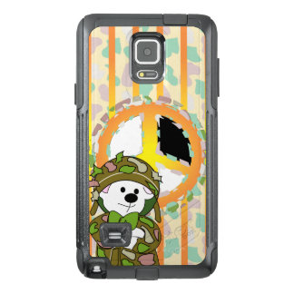 BEAR SOLDIER OtterBox Commuter Samsung Note 4 Case
