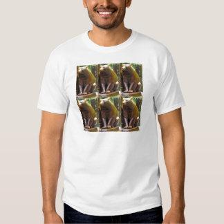 Bear Statue Sculpture at Central Park New York USA T-shirt