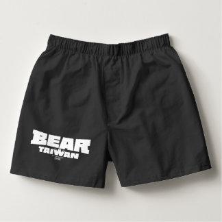 BEAR Taiwan TrunksBLACK Boxers