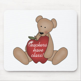 Bear Teachers Have Class Mouse Pad