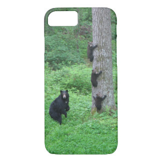 Bear & Three Cubs iPhone 7 Case