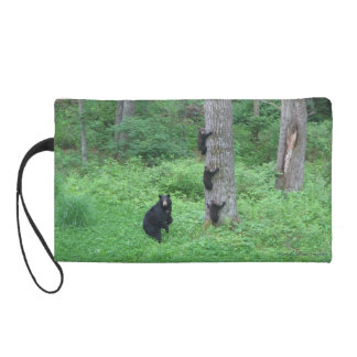Bear & Three Cubs - Wristlet - Reitzner