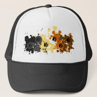 bear tracks trucker hat