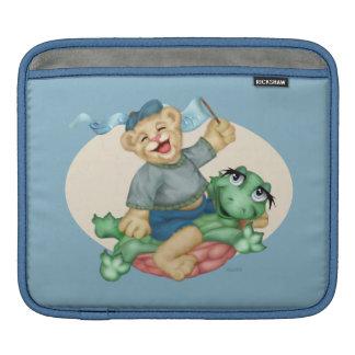 BEAR TURTLE CARTOON iPad H iPad Sleeve