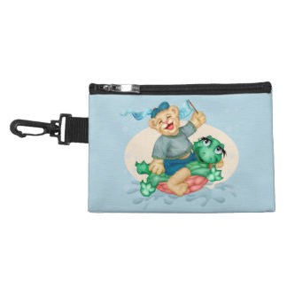 BEAR TURTLE Clip On Accessory Bag