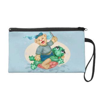 BEAR TURTLE Wristlet BAG