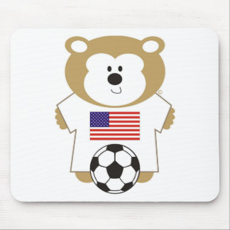 BEAR UNTED STATES MOUSEPAD