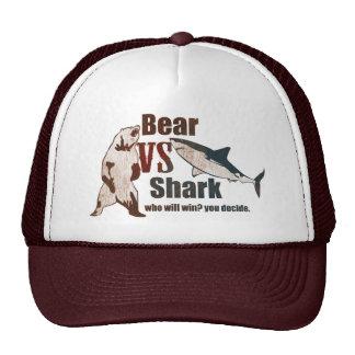 Bear vs. Shark. Who will win? you decide. Cap