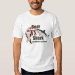 Bear vs. Shark. Who will win? you decide. T Shirt