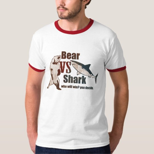 Bear vs. Shark. Who will win? you decide.