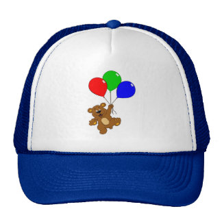 'Bear with balloons'  hat