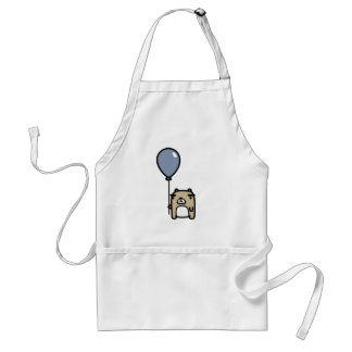 Bear With Blue Balloon Standard Apron