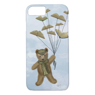 Bear with Book Butterflies 3 iPhone 8/7 Case