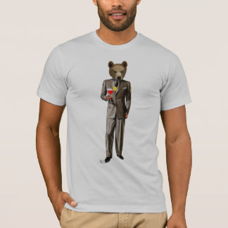 Bear With Cocktail T-Shirt