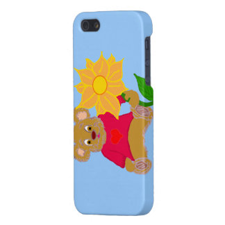 Bear with Flower iPhone Case iPhone 5 Cover