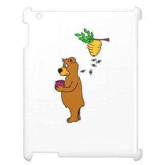 Bear With Honey iPad Covers
