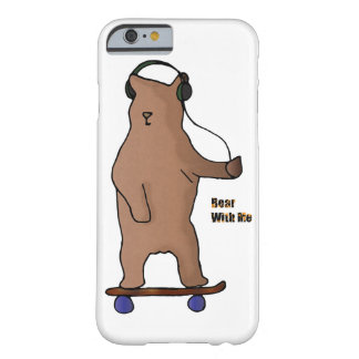 Bear with me - Board Animals iphone case
