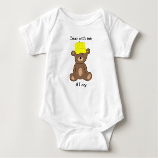 Bear With Me if I Cry Baby Bodysuit