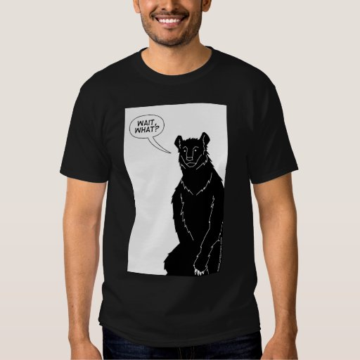 """Bear With Me"" T-shirt (black)"