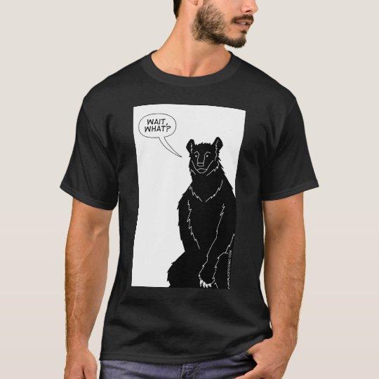 """Bear With Me"" T-shirt (black)"