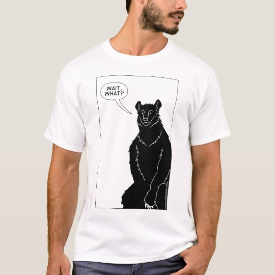 """Bear With Me"" T-shirt (white)"