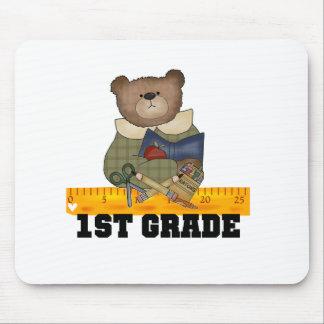 Bear with Ruler 1st Grade Mouse Mat