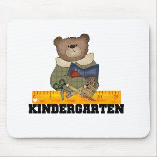 Bear with Ruler Kindergarten Mouse Mat