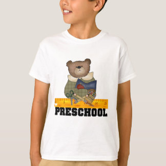 Bear with Ruler Preschool Tshirts and Gifts