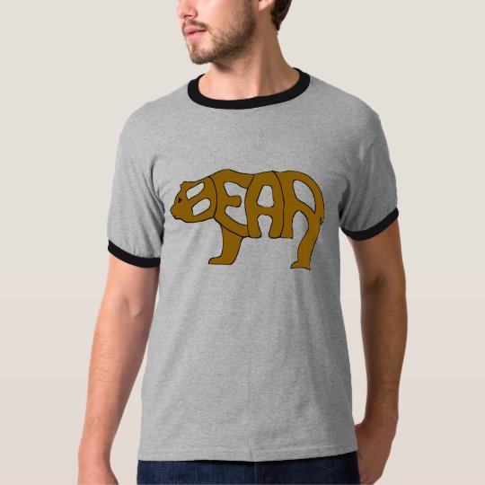Bear Word Colour T-Shirt