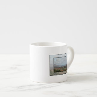Beara Peninsula, Ireland. Scenic View. Espresso Cup