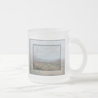 Beara Peninsula, Ireland. Scenic View. Frosted Glass Coffee Mug