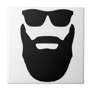 Beard and Sunglasses Tile