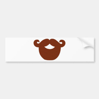 Beard Bumper Sticker