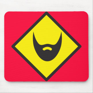 BEARD crossing Mouse Pads