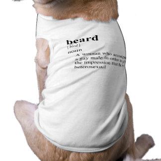 BEARD DOG TEE SHIRT