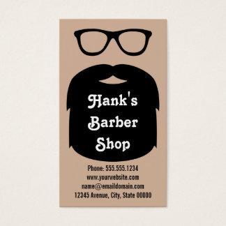 Beard & Glasses Business Card