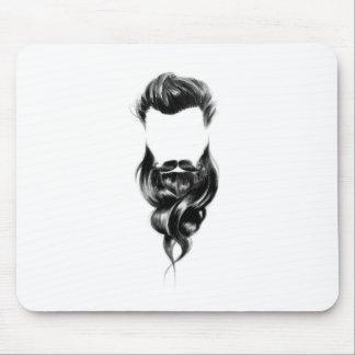 Beard Love Mouse Pad