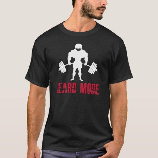 BEARD MODE Workout T shirt