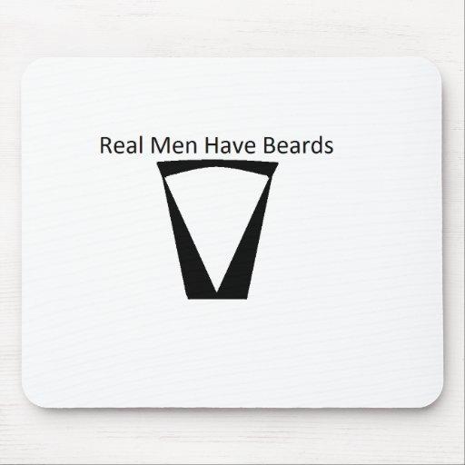 beard mouse pads