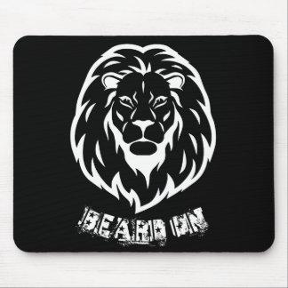 Beard On Mouse Pad