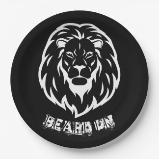 Beard On Party Plates