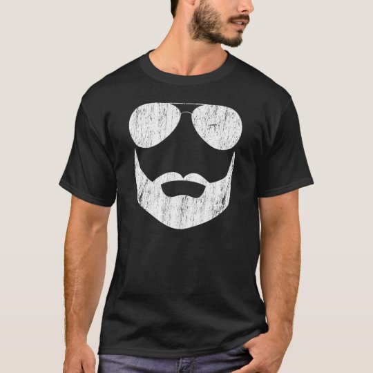 Beard Sunglasses T-Shirt