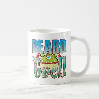Beard Troll Basic White Mug